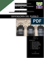 Defensoria Del Pueblo Derecho Empresaial