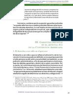 5 Garantias Previstas e Le Taticulo 8.1