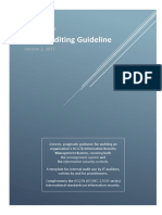 ISO27k Guideline on ISMS Audit v2