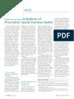 CDC Paper on Prescription Deaths