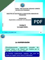 La Supervisión, el monitoreo y el acompañamiento