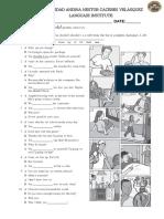 Intermediate Exam Unit 8