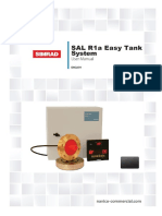 SIMRAD SAL R1a Easy Tank User Manual