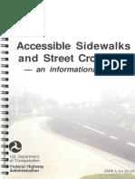 Accessible Sidewalks