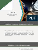 Presentación Contabilidad de Costos