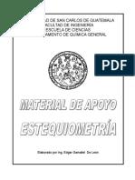 349240050 Material de Apoyo Estequiometria