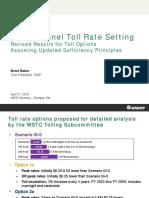 SR 99 toll rate options