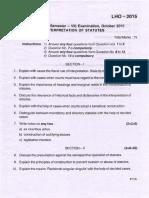 Llb (Hons) Oct15 Sem Vii Interpretation of Statutes