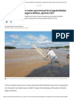Acre é o Estado Com Maior Percentual de Irregularidades No Pagamento Do Seguro-Defeso, Aponta CGU _ Acre _ G1