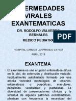 Enf. Virales Exantematicas
