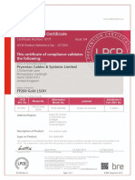 SC077f-01 Cables Product Supplementary Certificate