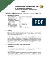Circuitos y Maquinas Electricas. 2018 - I