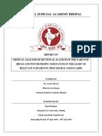 NJA Report on NDPS Act (1)