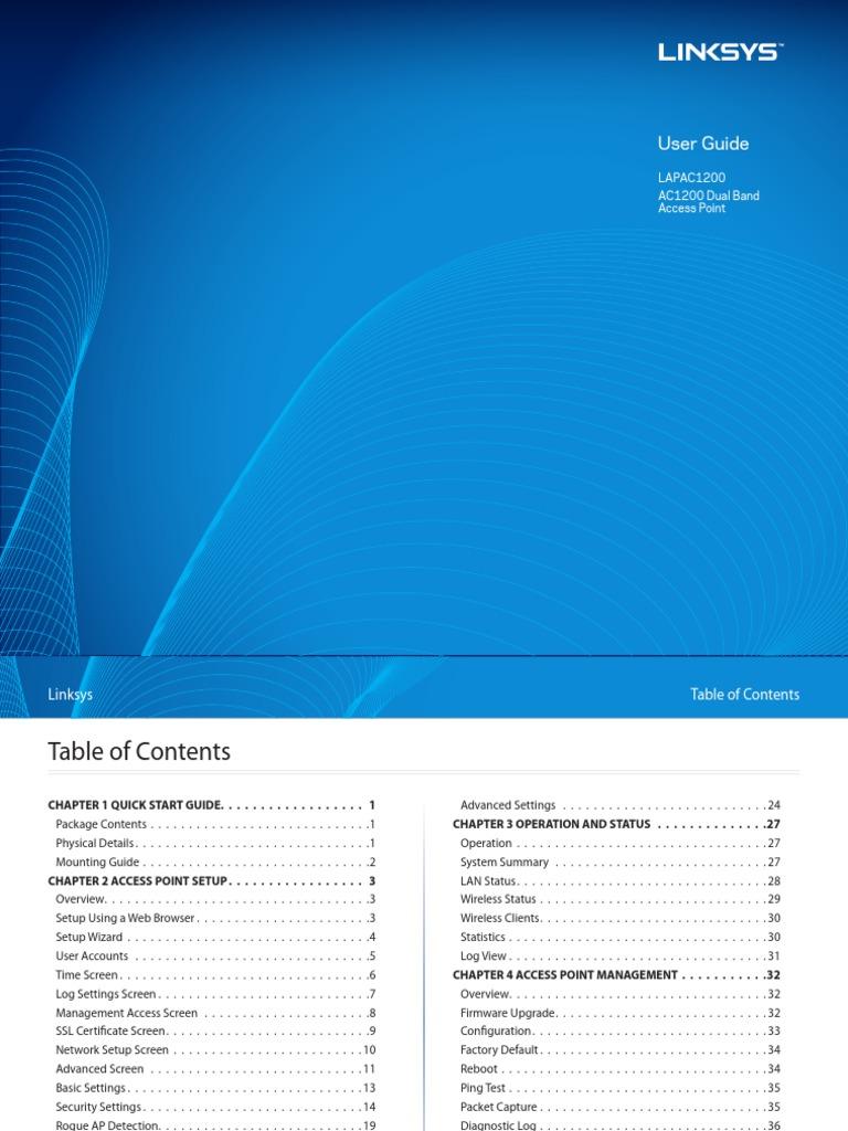 LinkSys 1200 User Guide | Wireless Lan | Hypertext Transfer Protocol