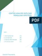 Contoh Analisis Data Dan Pengujian Hipotesis