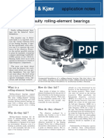 Detecting Faulty Rolling Element Bearing
