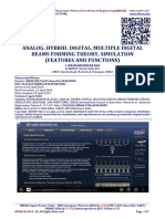 ANALOG, HYBRID, DIGITAL, MULTIPLE DIGITAL BEAMS FORMING THEORY, SIMULATION (FEATURES AND FUNCTIONS)
