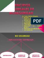 Principios Universales de Bioseguridad