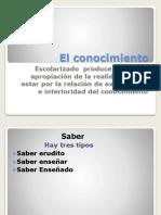 Didactica Trabajo Conocimiento Practica y Saber