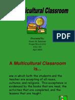 MulticulturalClass.ppt
