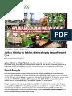 Aplikasi Administrasi Sekolah Adiwiyata