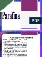 Clase 4 Parafina e Infra Rojo