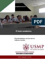 Documento Complementario 5_El Texto Académico