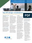 BROCHURE UPS Design Considerations LR