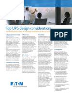 BROCHURE UPS Design Considerations LR