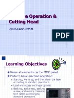Basic Machine Operation and Maintenance