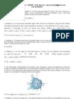 Física I INTESP 5ª Lista de Exercícios vs97