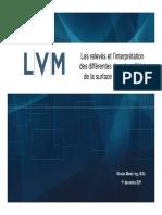7 Releves Et Interpretation Des Differentes Donnees Etat de La Surface n. Martel