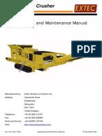 Extec QJ340 C12 Manual