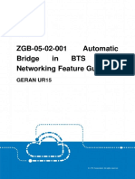 GERAN UR15 ZGB-05!02!001 Automatic Bridge in BTS Chain Networking Feature Guide (V4)_V1.0