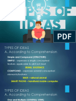 8 Ideas Types