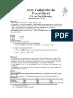 Auto Evaluación de Probabilidad MCS II