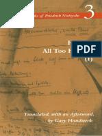 Nietzsche, Friedrich - Human, All Too Human I