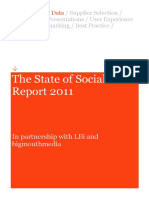 State of Social Report 2011