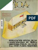 """""""Ñuñoa, 58 años de vida comunal, 1895 - 1953"""""""