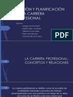 Gestión y Planificación de La Carrera Profesional
