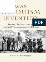 Brian K. Pennington - Was Hinduism Invented__ Britons, Indians, and the Colonial Construction of Religion (2005, Oxford University Press, USA).pdf