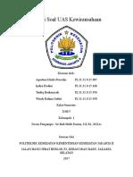 Gabungan Soal Uas Kwh D-III Gizi b Semester 5