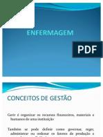 MODELOS DE GESTÃO EM ENFERMAGEM