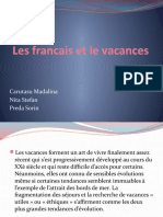 Les Francais Et Le Vacances (1)