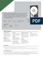 WD10SPZX HDD Spec Sheet