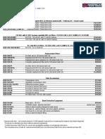 ASR Price List