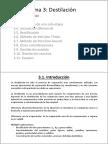 Destilación (Teoría)