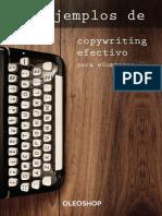 10 ejemplos reales de Copywriting efectivo