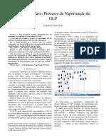 Estudo de Caso - Processo de Vaporização de GLP