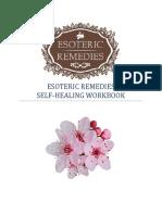 Bach Floral Esoteric Remedies Self Healing Workbook